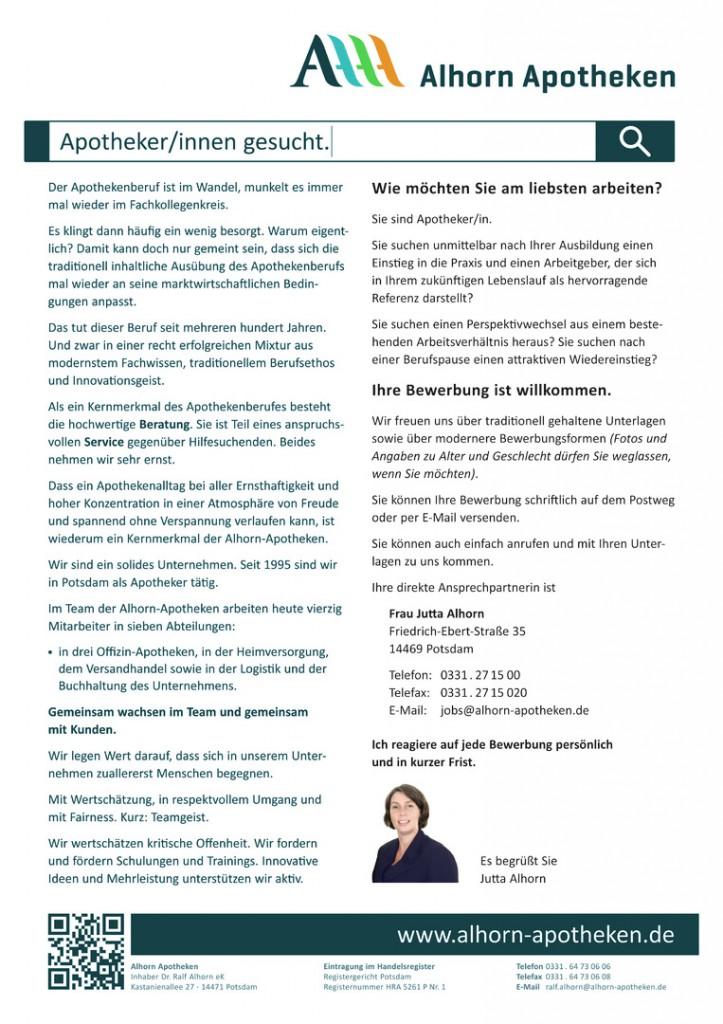 AlhornApotheken_Stellenausschreibung_Apotheker_Download